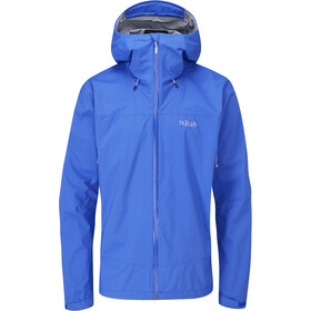 Rab Downpour Plus 2.0 Giacca Uomo, blu
